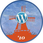 WordCamp NL 2010 medaille